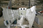 View from the front of one of the nacelles waiting to be fitted to HJ711