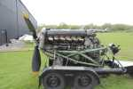 Port-side view of Peter Grieve's Merlin engine.