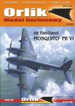 Orlik 1/33 de Havilland Mosquito FB.VI