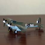 Helmet 1/200 scale de Havilland Mosquito NF.II (note, should be FB.VI with these codes), A52-526, NA-E, 1 Squadron RAAF