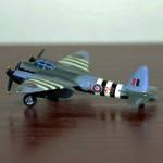 Helmet 1/200 scale de Havilland Mosquito NF.XII/NF.XVII (note, should be NF.XIX with these codes), MM650, RS-J