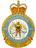 Newer 418 Squadron badge